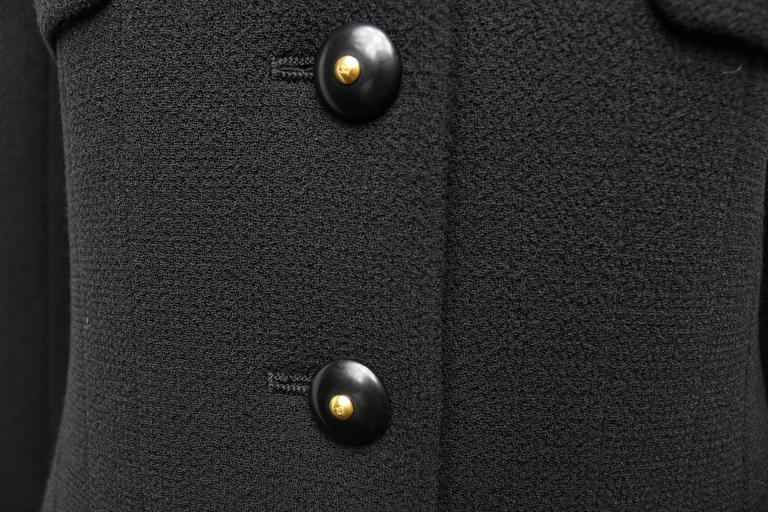 Chanel Black Wool Suit 3