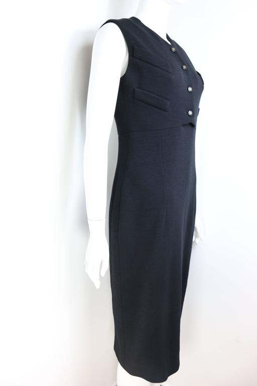Chanel Classic Black Dress In New Never_worn Condition For Sale In Sheung Wan, HK