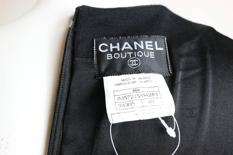 Chanel Classic Black Dress For Sale 1