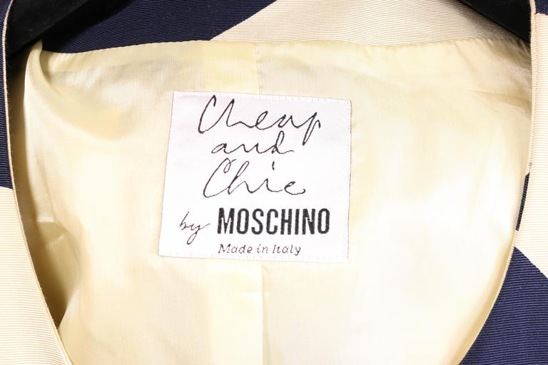 Moschino Cheap and Chic Silhouette Printed Two Pieces  7