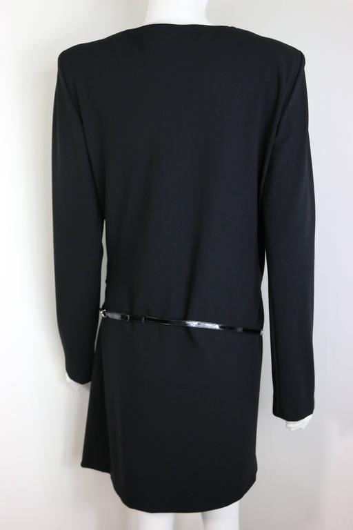 Gucci By Tom Ford Mini Black Dress For Sale 1