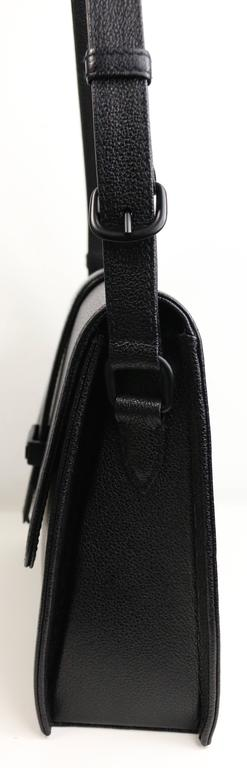 Women's Chanel Black Caviar Flap Handbag  For Sale