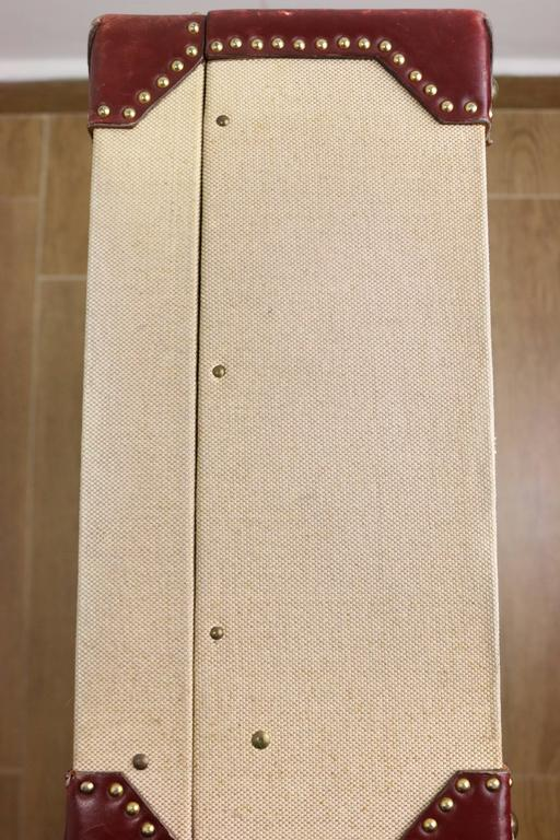 Hermes Canvas Rigid Trunk  For Sale 4