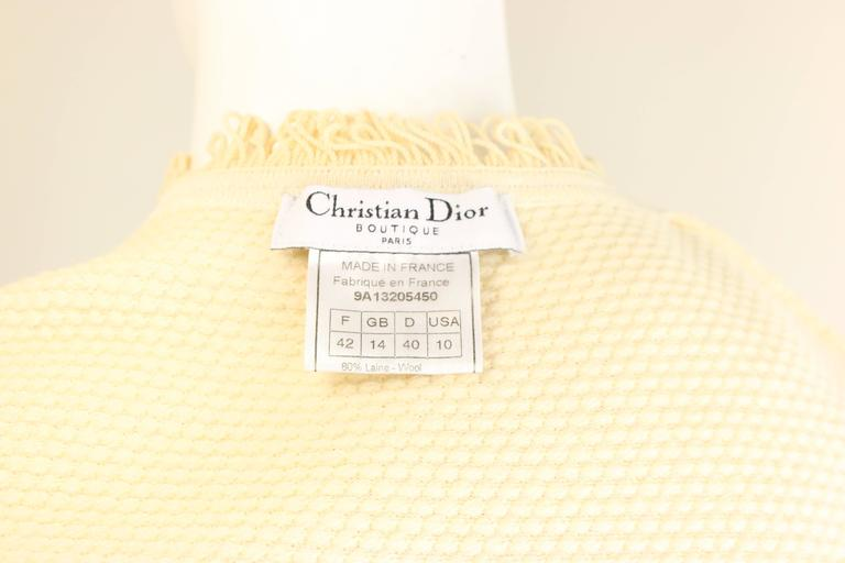 Women's Christian Dior Biege Bumps Tank Top  For Sale
