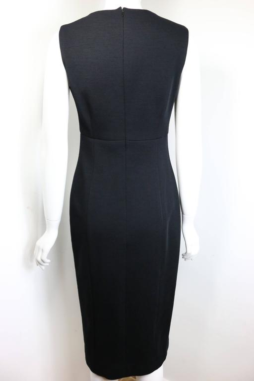 Chanel Black Wool Dress 3