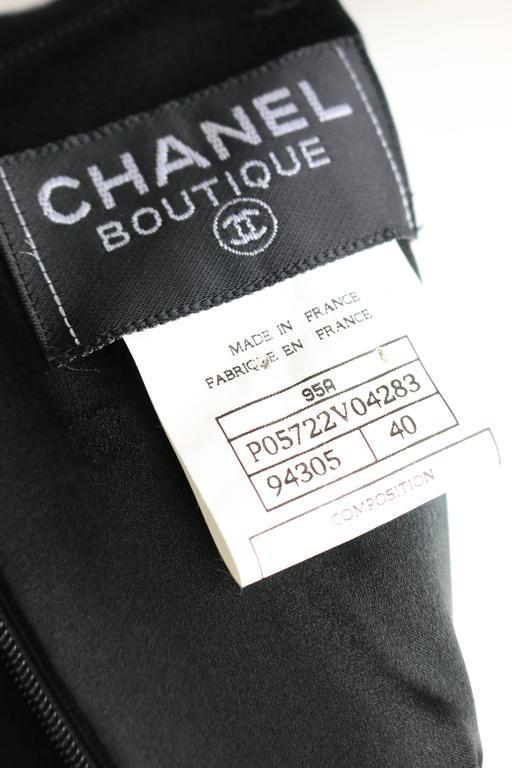 Chanel Black Wool Dress 5