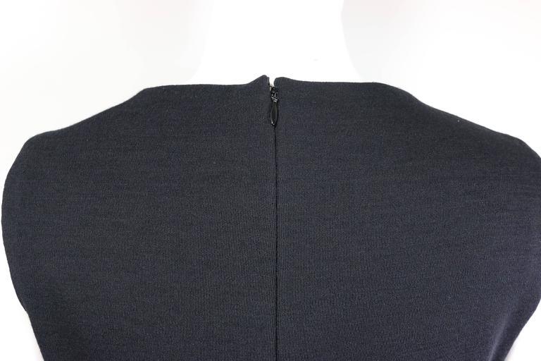Chanel Black Wool Dress 4