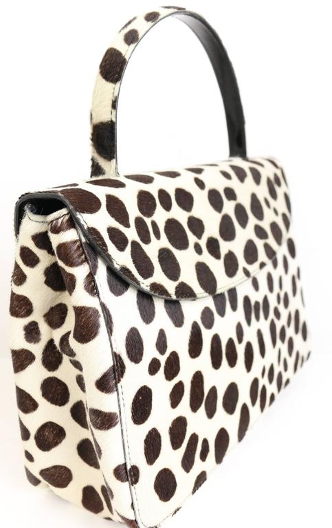 5fcb98ce0cf8 ... where can i buy vintage 90s prada leopard print pony hair flap handbag. animal  print