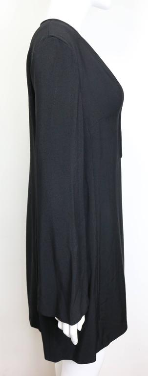 Women's Gucci by Tom Ford Black Tunic Dress  For Sale