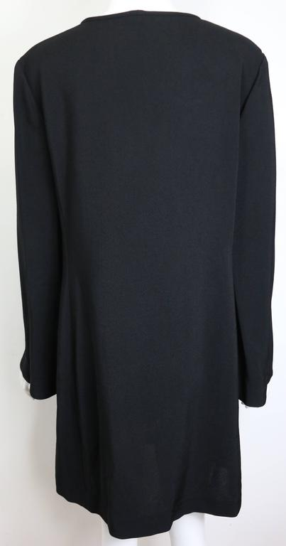 Gucci by Tom Ford Black Tunic Dress  For Sale 1