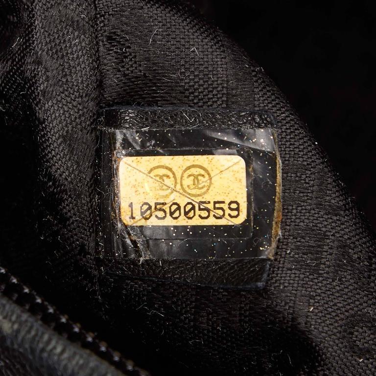 Chanel Black Leather Le Marais Bowler Bag For Sale 3