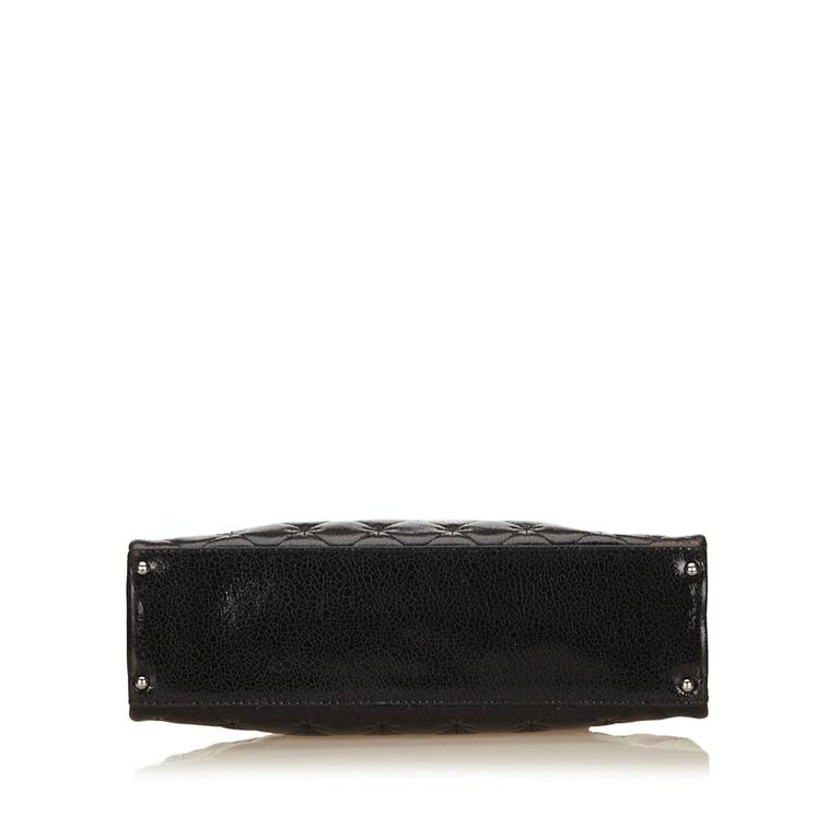Chanel Black Quilted Patent Reissue 2.55 Chain Shoulder Bag  4
