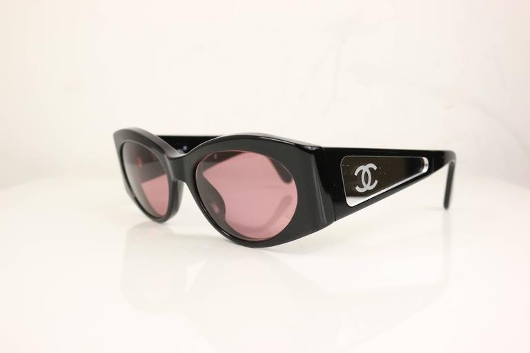 Brown Chanel Black Frame