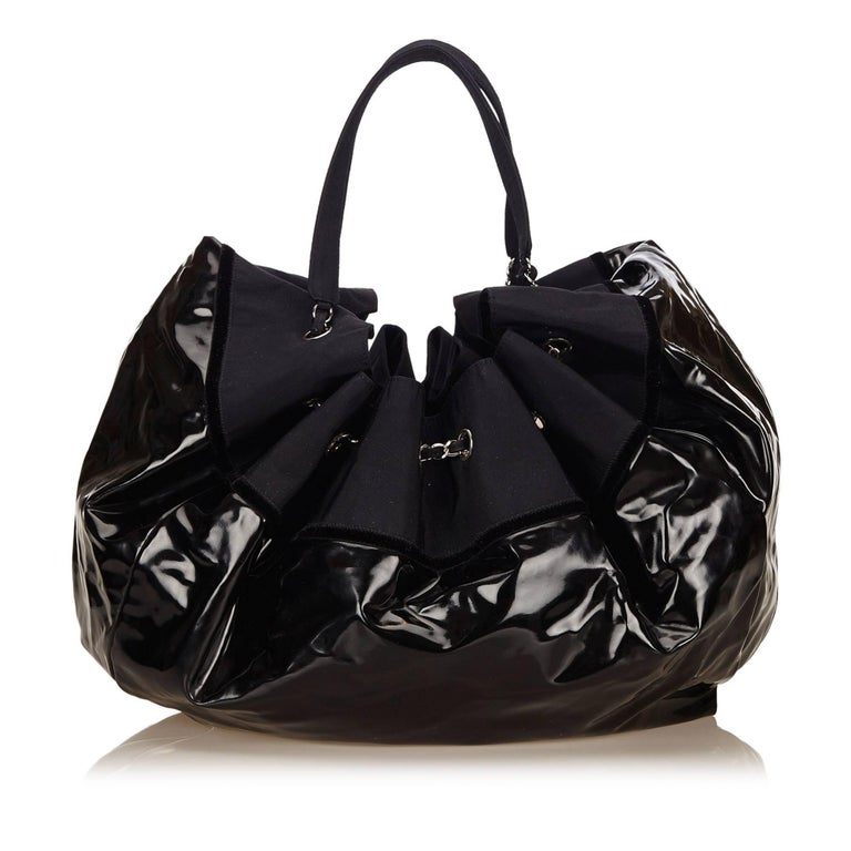 e4a2c20444f7 Chanel Cabas Spirit Patent Leather Tote | Stanford Center for ...
