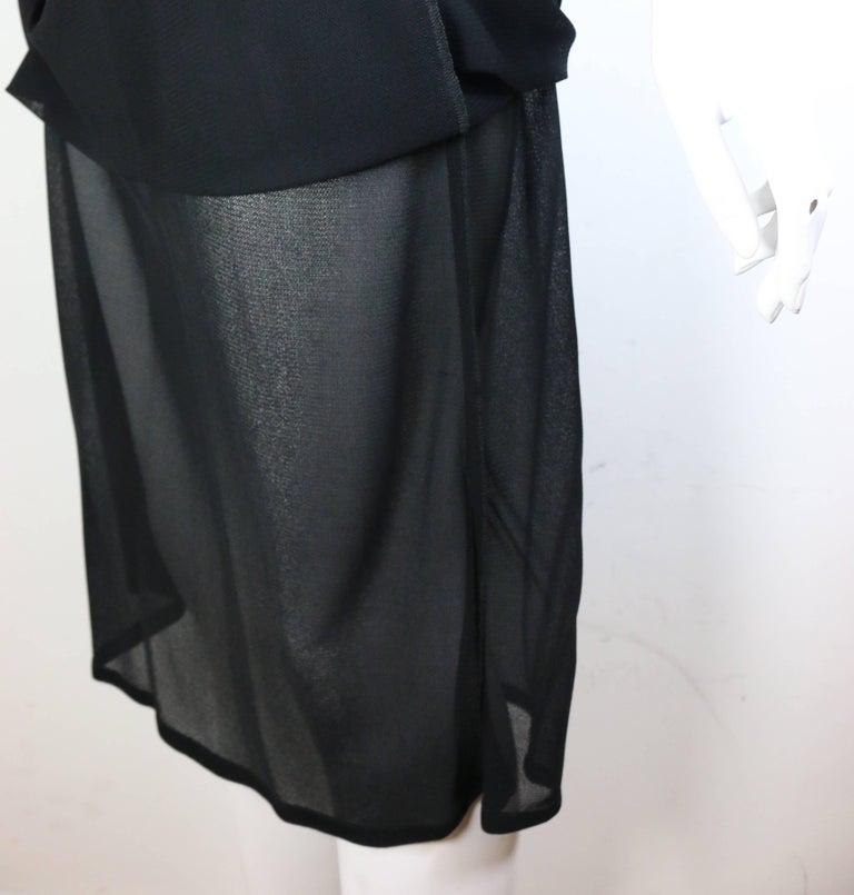 Women's Gucci by Tom Ford Black V-neckline Dress  For Sale