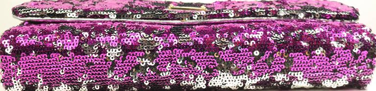 Women's Dolce And Gabbana Multi Colour Sequins Shoulder Bag For Sale