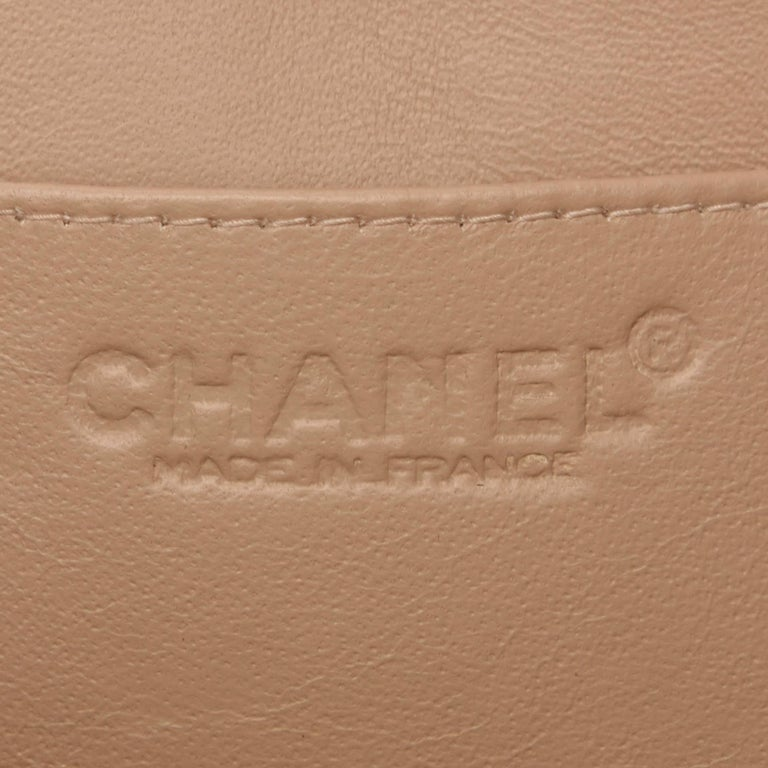 Chanel Brown Lambskin Leather Reissue Flap Shoulder Bag 4