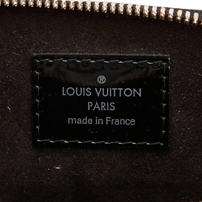 Louis Vuitton Black Epi Alma BB Shoulder Bag For Sale 3