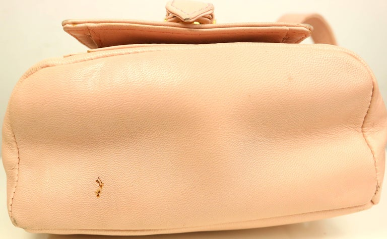 52914eef1c Women s Gianni Versace Couture Pink Leather Gold Medusa Mini Handbag For  Sale