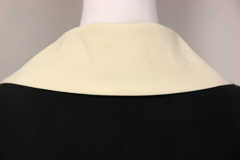 Moschino Couture Black Tunic Shirt with Symbols  For Sale 4