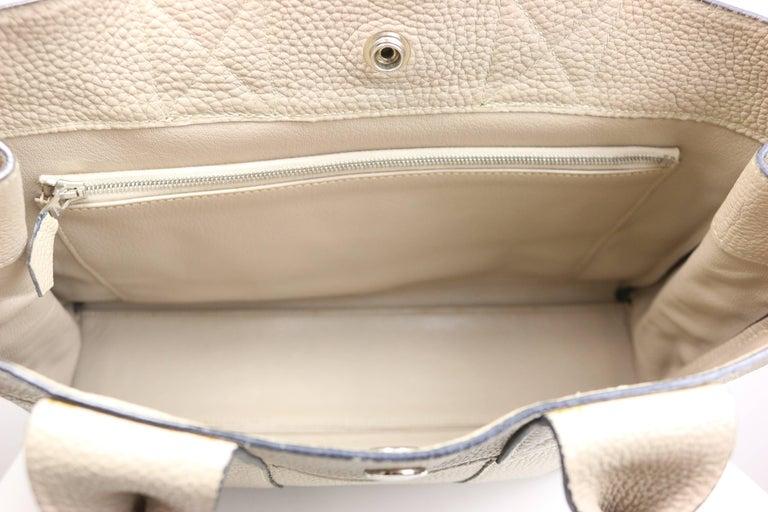 Women's or Men's Hermes Gris Tourterelle Gray Deauville Pm Bag
