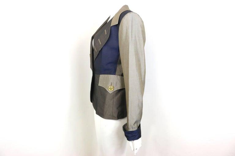 Women's Christian Lacroix Colour Blocked Jacket For Sale