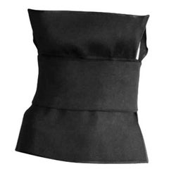 That Iconic Tom Ford YSL Rive Gauche 2001 Black Runway Bustier Top In Size 38!