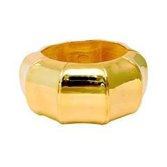 Kenneth J. Lane Gold-Tone Clamper Bracelet