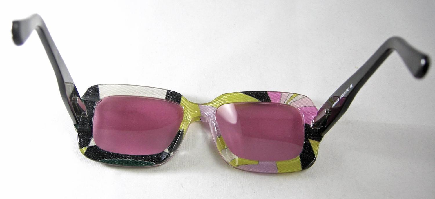 "Emilio Pucci 1960's Sunglasses Made In ""Italy"" at 1stdibs"