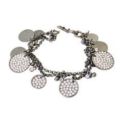 Vintage Signed Givenchy 2-Strand Bracelet