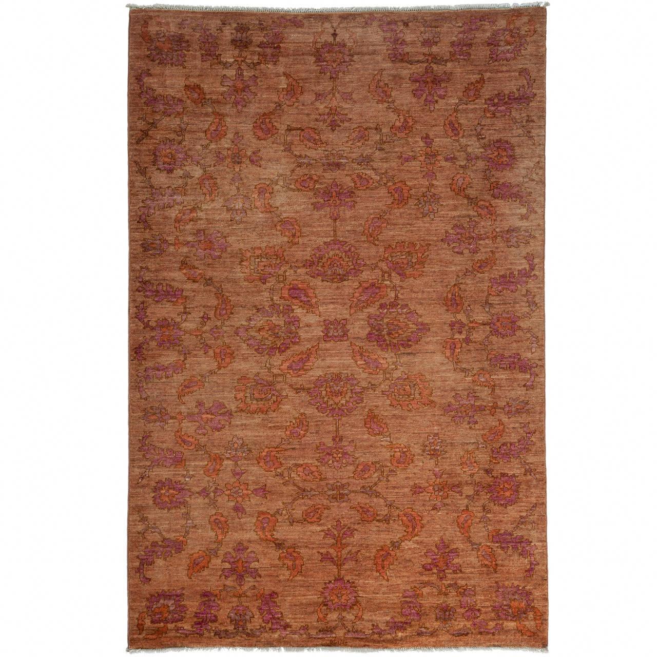 Pakistani Oushak, Hand-Knotted Oriental Rug
