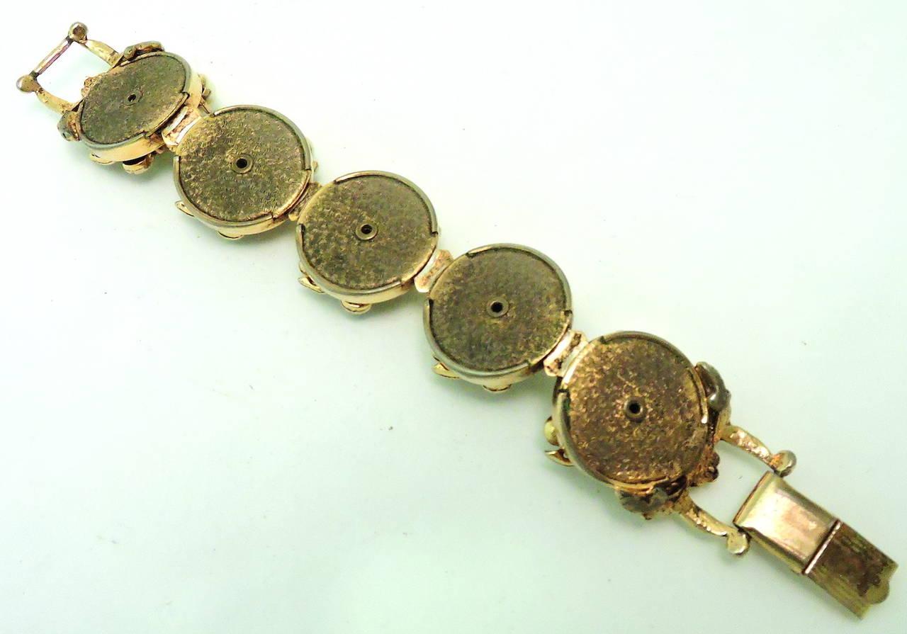Famous Vintage Rare Selro Noho Ivory colored Devil Bracelet 4