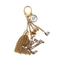 Louis Vuitton Logo Charm Keychain