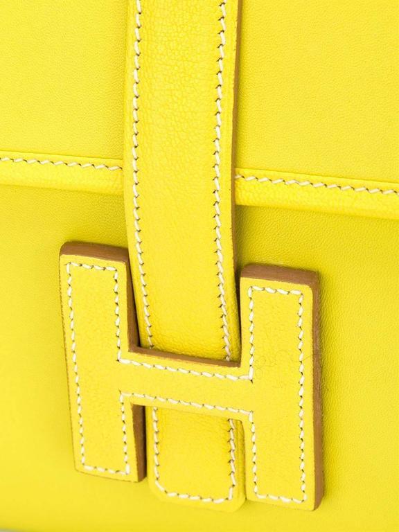 Women's Hermes Jige Elan 29cm Clutch For Sale