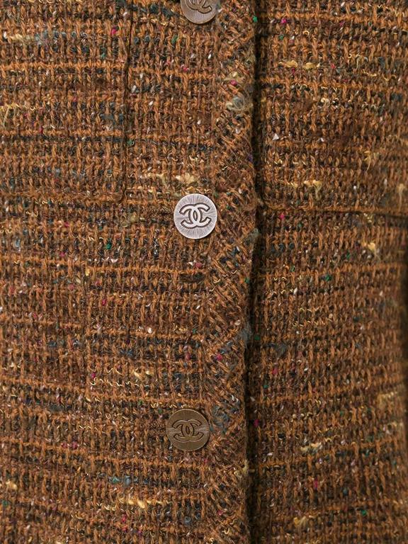Chanel Bouclé Blazer Jacket 2