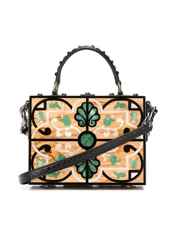 Women's Dolce & Gabbana Structured Crossbody Bag For Sale