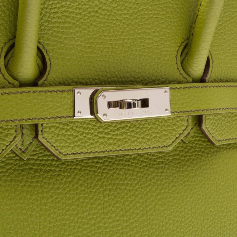 Hermes Green Birkin For Sale 3