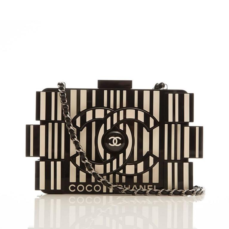 Chanel Runway Op-art Lego Boy Bag 7
