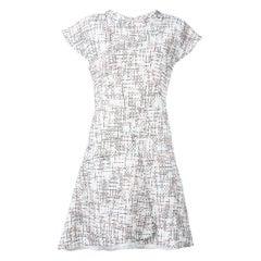 Chanel Cap Sleeve Tweed Dress