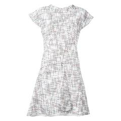Chanel Cap Sleeve Tweed Dress