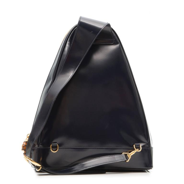 Gucci Black Leather Backpack  3