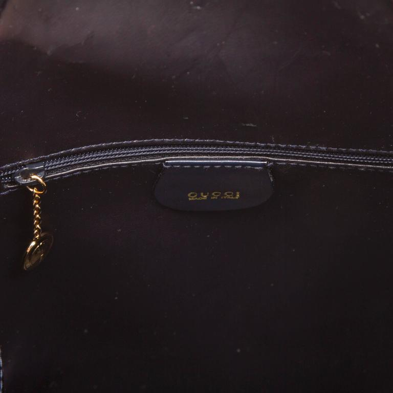 Gucci Black Leather Backpack  9