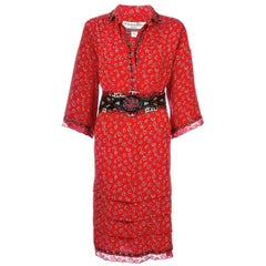 Chritstian Dior Vintage Floral Tunic