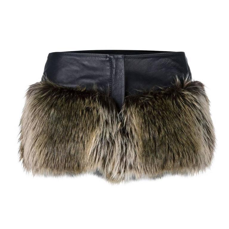 Chanel Faux Fur Short 1