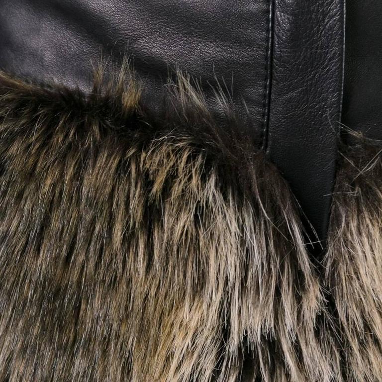 Chanel Faux Fur Short 5