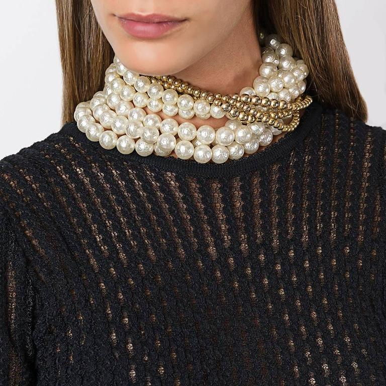 Christian Dior Pearl Chocker by Gianfranco Ferré 2