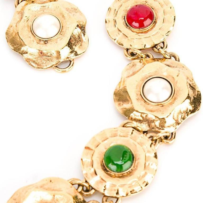 Chanel Medallion Chain Belt 2