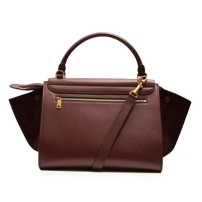 Céline Brown Trapeze Bag  3
