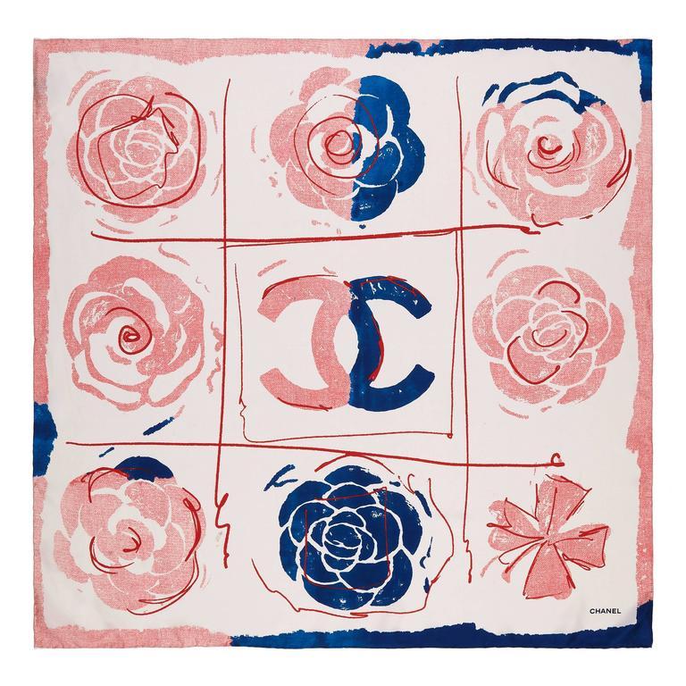 Chanel Silk Scarf 1