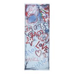 Chanel Cashmere-Silk Scarf